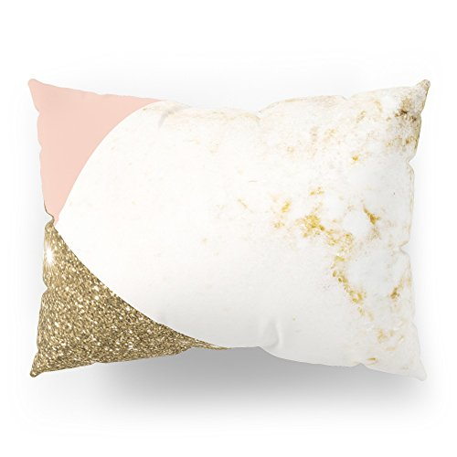 Society6 Gold Marble Collage Pillow Sham Standard (20'' x 26'') Set of 2 by Society6