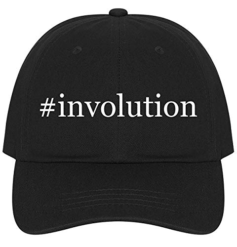 (The Town Butler #Involution - A Nice Comfortable Adjustable Hashtag Dad Hat Cap, Black, One Size)