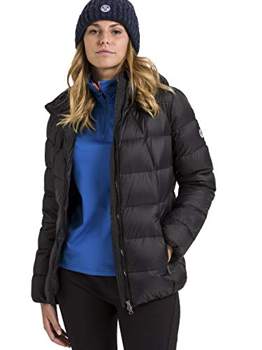 Repellent Women's Black In Malmo M Jacket Water North Sails Hooded 1YqSST