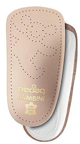 Pedag 192 Bambini APMA Accepted 3/4 Children's Orthotic, Tan Leather, Toddler 10.5/11 ch