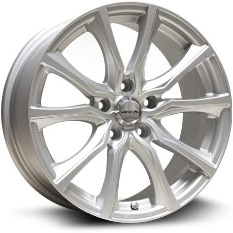RTX Contour Alloy Wheel//Rim Size 18x8 Bolt Pattern 5x110 Offset 40 Center Bore 65.1 Silver Center Caps Included Lug Nuts NOT Included Rim Priced Individually