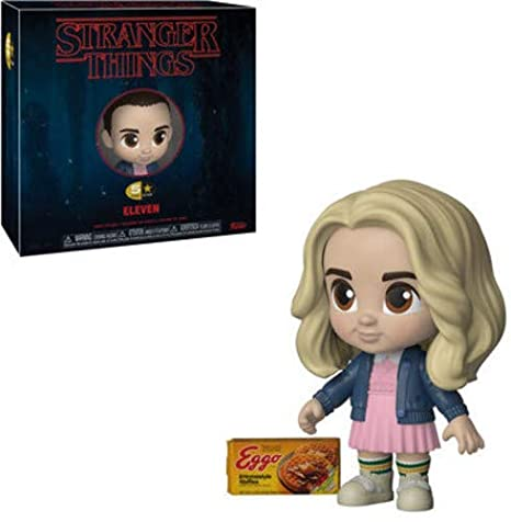 LAST LEVEL Eleven Figura 5 Star Stranger Things ELEVEL Blonde, Multicolor, Estándar (FF5K35054)