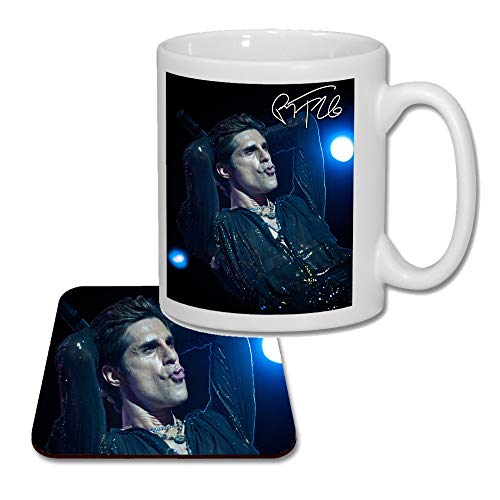 Perry Farrell - Jane's Addiction (V1) Matching Mug and Coaster Gift Set ideal Valentines, Birthday Present 2019