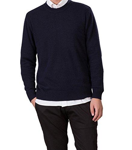 LongMing Cashmere Sweater%EF%BC%88Medium Dark Blue%EF%BC%89 product image