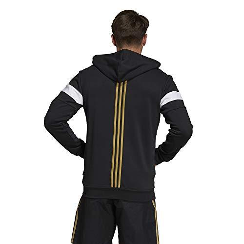 Noir Juventus Veste Homme À Adidas Capuche UFfwq7Ux