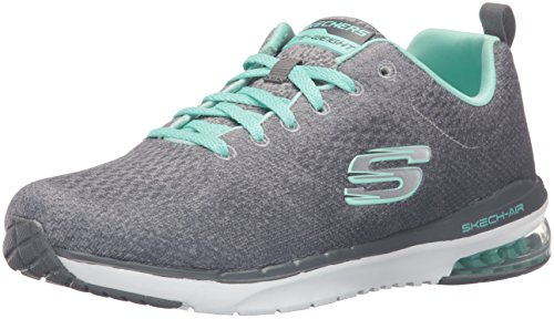 Skechers Sport Donna Skech Air Infinity Fashion Sneaker Carboncino / Menta