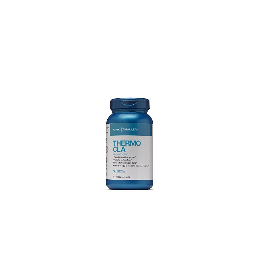 GNC Total Lean Thermo CLA for Healthy Body Composition and Lean Muscle Maintenance 90 Count