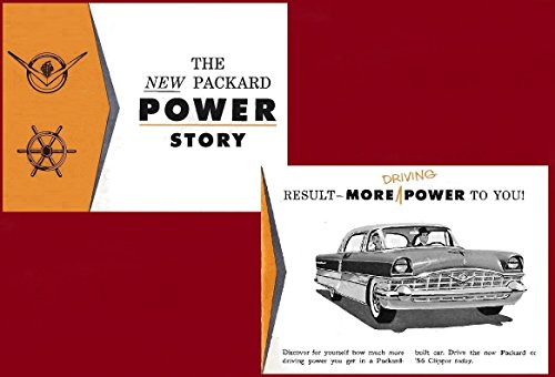 1956 PACKARD * THE NEW PACKARD POWER STORY * VINTAGE for sale  Delivered anywhere in USA