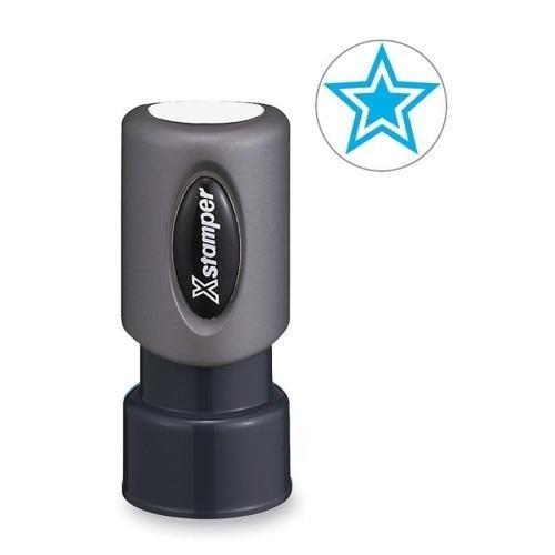 Xstamper Light - SHA 11421 Xstamper Pre-Inked Stamp - STAR Design Stamp - 0.63