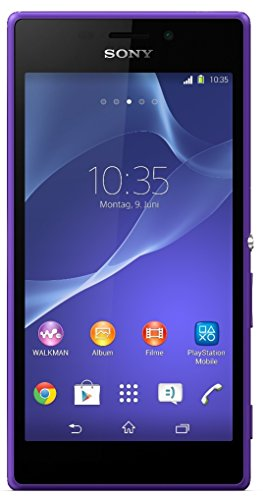 SONY XPERIA M2 D2303 8GB PURPLE FACTORY UNLOCKED SINGLE SIM LTE 4G 3G 2G CELL PHONE