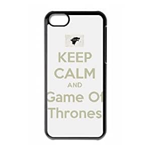 Unique Design Cases Zryid iPhone 5C Cell Phone Case Game of Thrones Printed Cover Protector