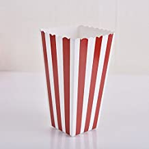 attachmenttou Popcorn Boxes Movie Party With Striped White And Black For Movie Night Or Party