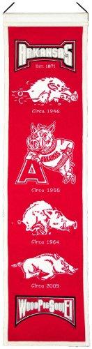 NCAA Arkansas Razorbacks Heritage Banner