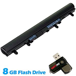 Battpit Bateria de repuesto para portátiles Acer Aspire V5-471-323b4G50Mass (2200mah ) Con memoria USB de 8GB GRATUITA