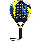 GRANDCOW Tennis Padel Paddle Pro Carbon Fiber Power Lite Pop EVA Foam Beach Paddle Tennis Paddleball Racket Racquets