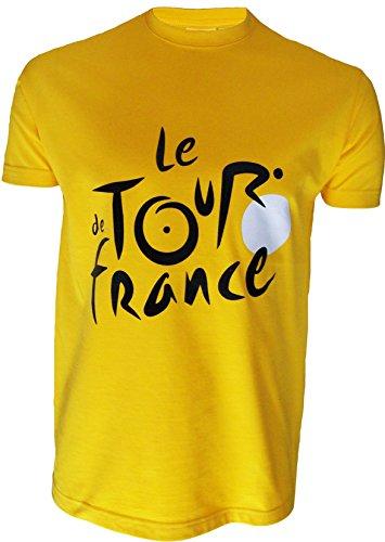 Le Tour de France Herren T-Shirt, offizielle Kollektion, Erwachsenengröße