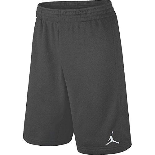 Shorts Basketball Swoosh - Nike Boys Dri-Fit Jordan Basketball Shorts, Dark Grey, Medium, 951532 176