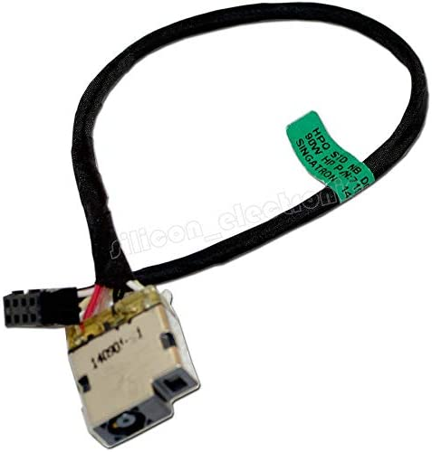 HQMETPARTS Supplies for DC Power Jack Harness Plug Cable for HP 15-g020ca 15-g020nr 15-g021ca 15-g021ds