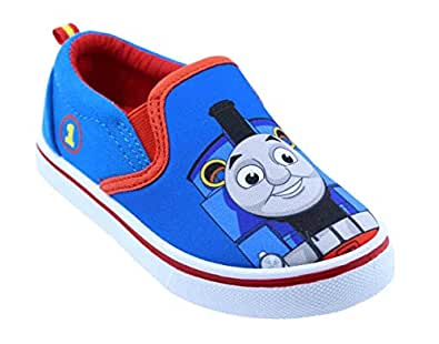 Toddler Boys Thomas The Train 61238 Canvas Shoes Blue Size: 5 Toddler