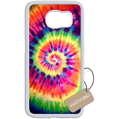 Diy Customized Cell Phone Case for Tye Dye White Samsung Galaxy s7 Hard Back Cover Shell Phone Case (Fit: Samsung Galaxy s7) Sales