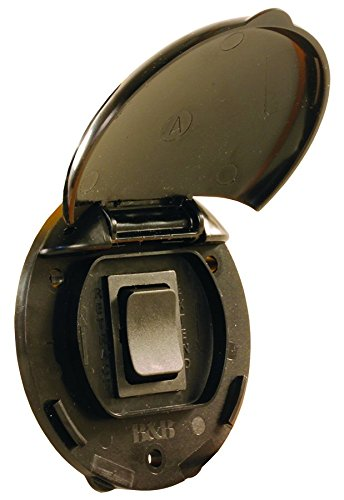 JR Products 05-11995 Black Compact Level Switch