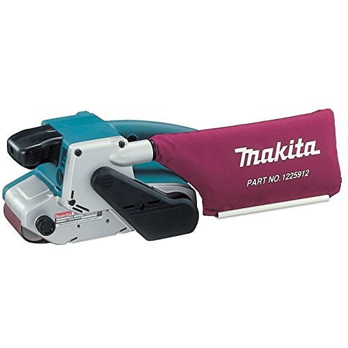 Makita Lever Plate - Makita 9903 8.8 Amp 3-Inch-by-21-Inch Variable Speed Belt Sander with Cloth Dust Bag