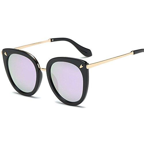 Street B Sol Tendencia Pat Brillante Gran Gafas Color Sol y Axiba de Gafas Gafas Sol de Regalos Mujer de Gran creativos Hombre 14PWqZT