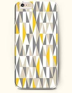 SevenArc Phone Skin New Apple iPhone 6 Plus case 5.5' -- Grey and Yellow Geometric Pattern