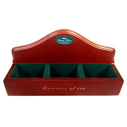 Dilmah Luxury Wooden Presenter Empty