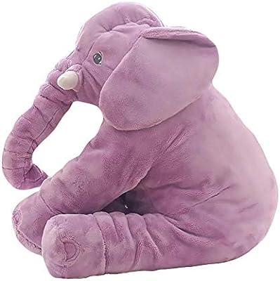 Elefante Peluches Bebes Gigantes De Juguete Almohada Suave De La Felpa Gatos Perros Muñecas Perezoso Dormir Blandos Juguetes Recién Nacidos Cumpleaños ...
