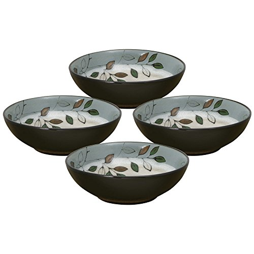 Pfaltzgraff Rustic Leaves Individual Pasta Bowl (32-Ounce, Set of 4) ()