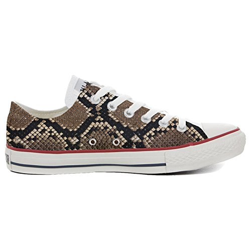 Converse All Star Customized - zapatos personalizados (Producto Artesano) Slim Pitonate