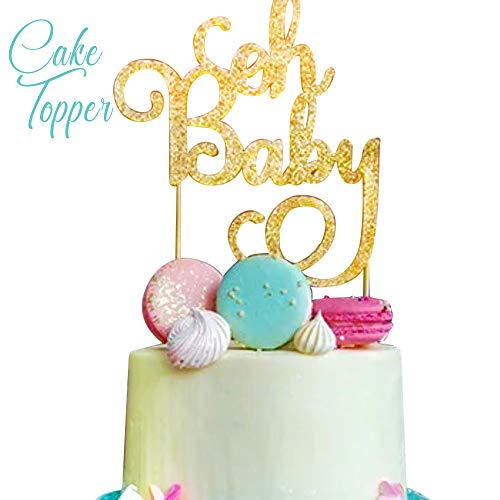 Baby Shower Decorations for Boy I BabyShower Backdrop Decor I Boy Baby Shower Decorations I Premium Party Decoration Items I Its a Boy Banner Star Swirls Foot-shaped Foil Balloon Lanterns, Cake Topper by Moment-O-Mania (Image #7)
