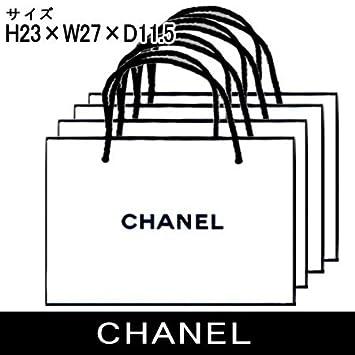 c44789c3e39c Amazon.co.jp: シャネル ショッパー 紙袋 大サイズ 4枚セット 【並行 ...
