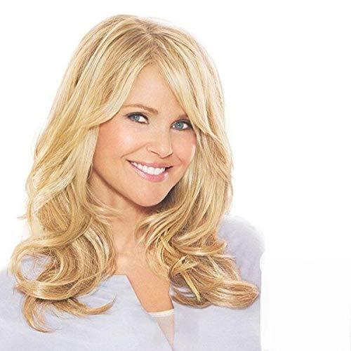 FidgetGear Trendy Blonde Hair Long Capless Bouffant Wavy Wig for Women