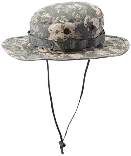 (Tru-Spec Boonie, Tru ACU Digital Nyco R/S with Loops, 7-3/4, Army Digital,)