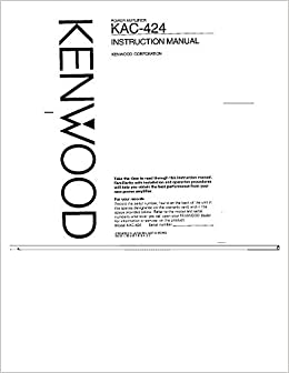kenwood owners manuals online
