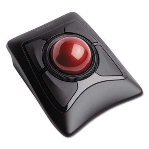 Kensington Expert Mouse Wireless Trackball, Four Buttons, Black (KMW72359)