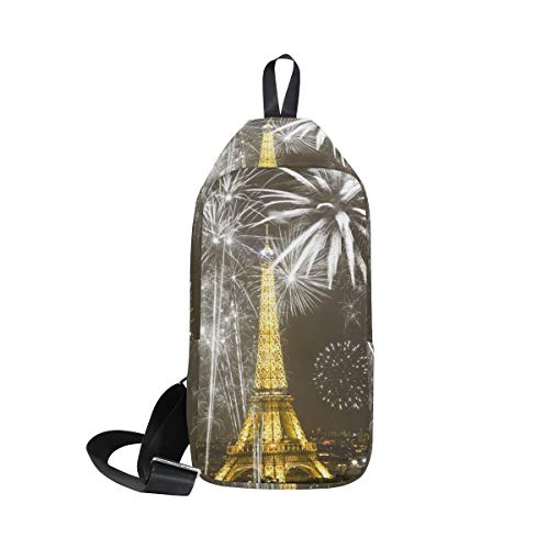 Bag Tower Cross Waterproof Men amp; Paris Sling Small For Shoulder Women Backpack Bennigiry Chest Eiffel Body 4FEwqfP