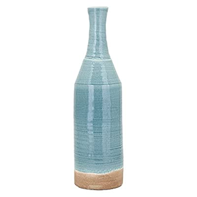 IMAX Trisha Yearwood Songbird Vase - Choose from available sizes Crafted in stone Fluted design - vases, kitchen-dining-room-decor, kitchen-dining-room - 41FRige mGL. SS400  -