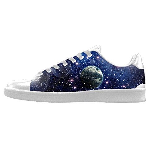 Custom Universum Platte Mens Canvas shoes Schuhe Lace-up High-top Sneakers Segeltuchschuhe Leinwand-Schuh-Turnschuhe E