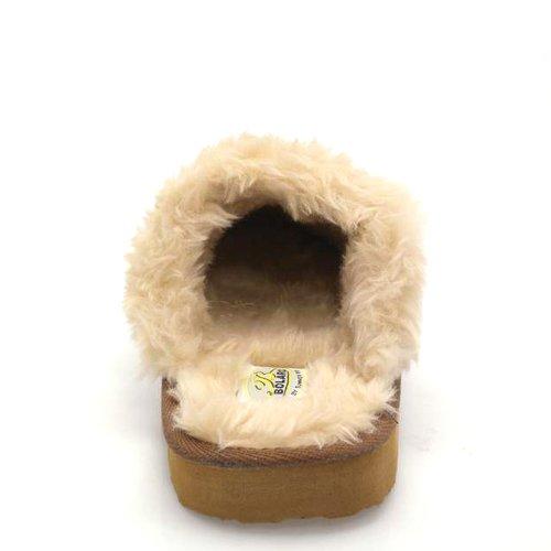 Pantofola Di Comodità Calda Del Cotone Piano Della Pelliccia Artificiale Delle Nuove Donne Di Brieten