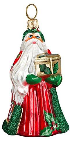 Joy to the World - Glitterazzi Mini 12 Days of Christmas - Seven Swans A Swimming - Blown Glass Ornament ()
