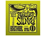 Ernie Ball 2221 Nickel Regular Slinky Electric Guitar Strings 6 Pack