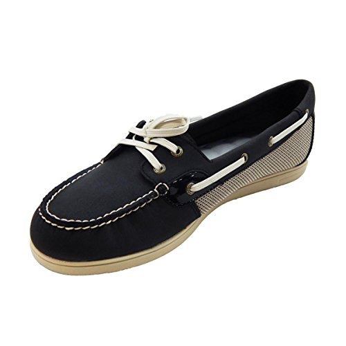 Sperry Top-Sider Womens Shoresider Black Boat Shoe Black mz3s5xgx