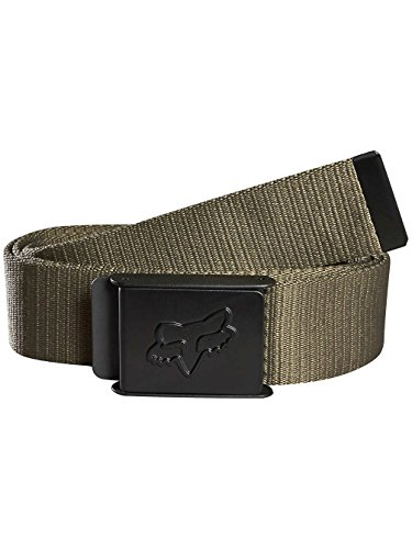 Fox Racing Mens Belt (Fox Racing Boys Mr. Clean Web Belt One Size Military)