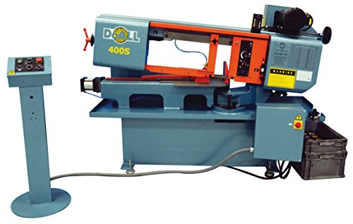 DoALL 400S 10' x 16' StructurALL Horizontal Metal Cutting Swivel Band Saw - 2 hp, 208V with Work Light