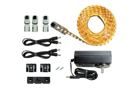 LED Lighting | Cut and Connect Series Kit Ultra Bright | Warm White | 3000 K | ~9.5ft/ 3M Kit Under Cabinet lighting | Accent Lighting | Dimmable | Customizable - Customizable Kit Light