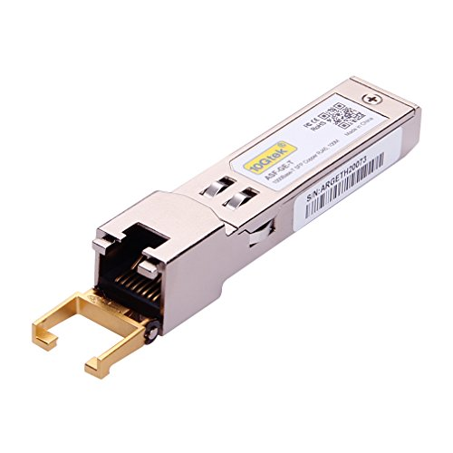 10Gtek for Ubiquiti UF-RJ45-1G SFP Transceiver, 1.25 Gigabit RJ45 Copper SFP Module, 1000Base-T by 10Gtek (Image #2)