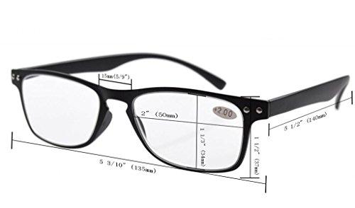 f2c17d28729 Eyekepper Ultrathin Flex Frame 5-pack 80 s Reading Glasses Include Sun  Readers +3.5  Amazon.ca  Health   Personal Care